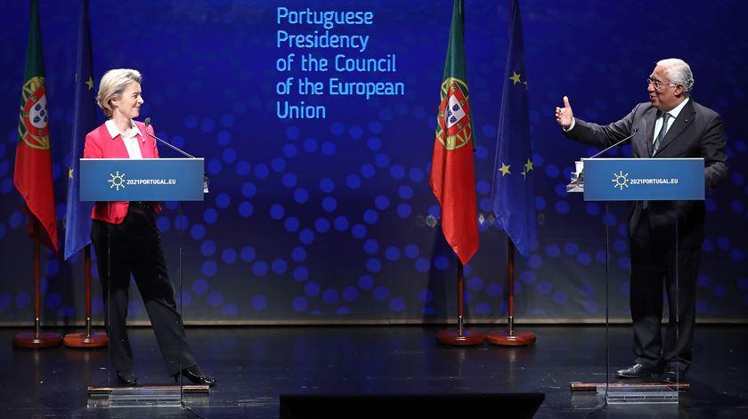 Ursula Von der Leyen et PM Costa: «le certificat de vaccination pourrait  aider le tourisme» - Actualités du Portugal