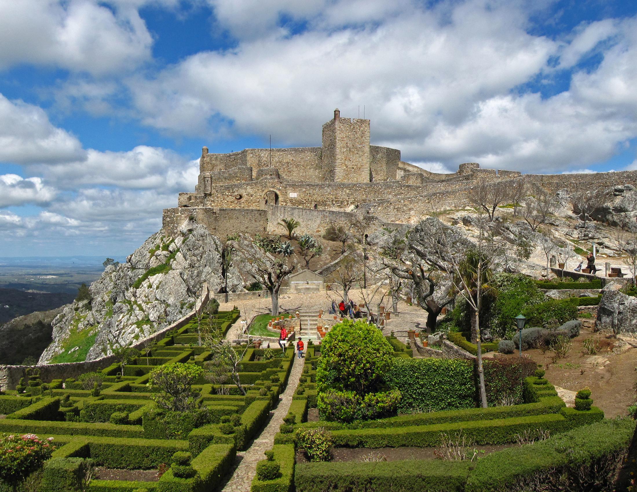 chateau-de-marvao-alentejo-tourisme-du-Haut -Alentejo-au-Portugal