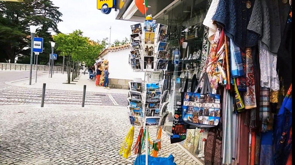 Boutiques artisanales à Fátima